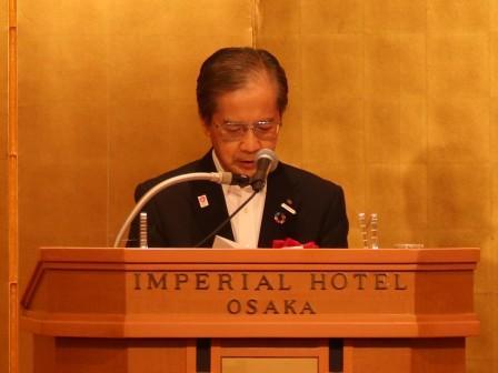 祝辞:日本電気協会関西支部           支部会長 土井 義宏 氏